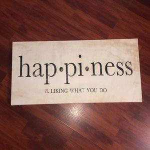 Happiness Canvas
